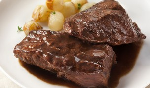 Short Ribs with Beer and Red Wine Sauce
