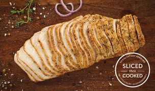 Sliced Roasted Turkey Breast