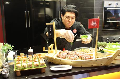 "Chef Kyong ""Kai"" Park Sees Possibilities in ""Sous-Shi"""